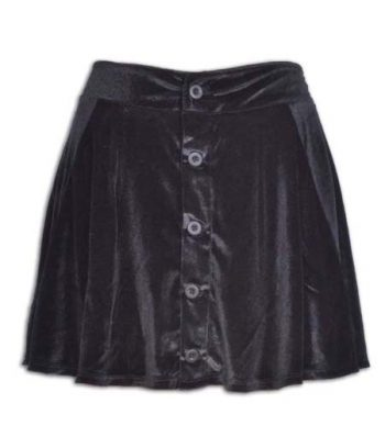 Skirt With Front Placket