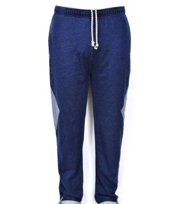 Joggar Pant With Contrast Patch And Bone Pocket