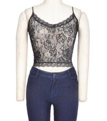 Ladies Lace Crop