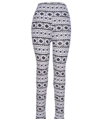 Legging With Front Zipper