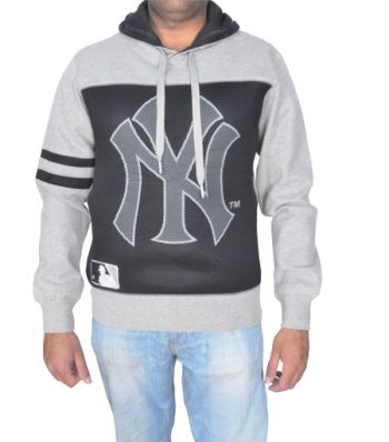Long Sleeve Hoody With Printed 3D Mesh