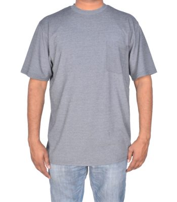 Short Sleeve Crew Neck With Pocket