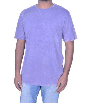 Short Sleeve Garment Dyed Crew Neck