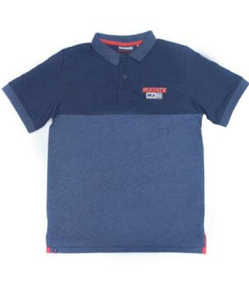 MCKTJ11307- Rampart  Color Blocked Polo Shirt