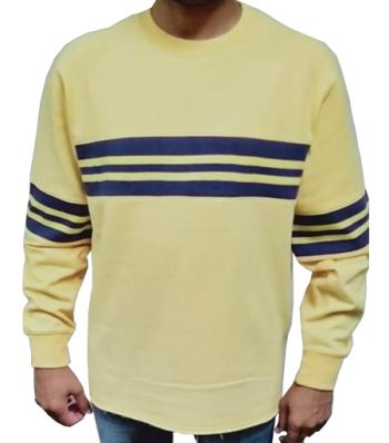 Sweat Shirt With Trims