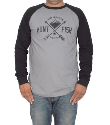 Mens Long Sleeve Crew Shirt
