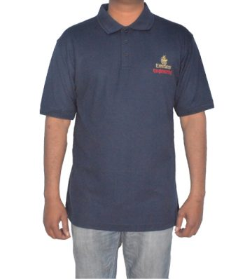 S-S Polo With Front Chest Emboridery