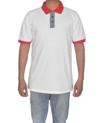 S-S Polo With Contrast Cuff & Collar