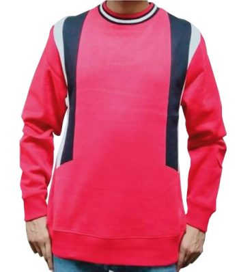 Mens Pannel Sweat Shirt